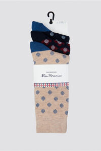 3 Pack of Spotted Socks_0063184_995_a