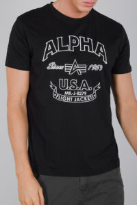 ALPHA FJ T – 03 BLACK