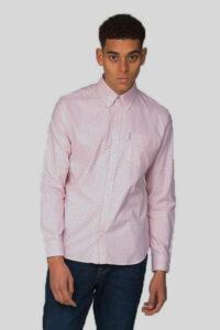 Camisa Polka Dot – Ben Sherman – Pink 1