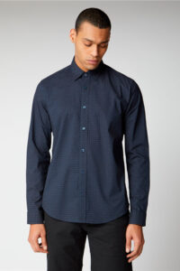 Camisa_Geo Print Shirt_Ben Sherman_0059103Navy_a