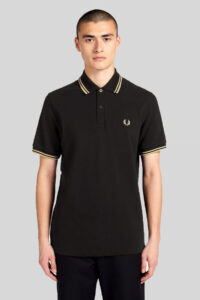 Fred Perry-Polo M12-Black Gold