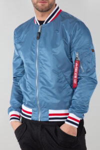 MA-1 LW Tipped – Alpha Industries – Airfoce blue 2