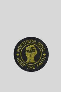 Parche Nothern Soul Faith – UK-LOOK – Dorado