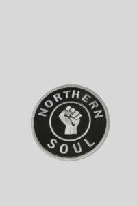 Parche Nothern Soul – UK-LOOK – Black