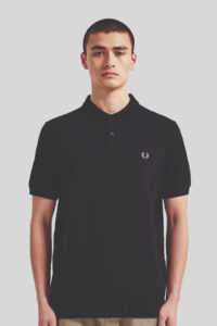 Polo Fred Perry M6000 Sin Rayas – Black