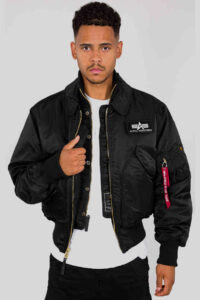 X-Force oversized fit – Alpha Industries – Black 1