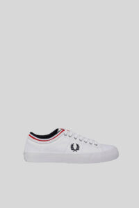 Zapatilla Kendrick Tripped Cuff – Fred Perry – White 1