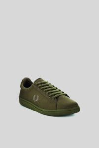 Zapatilla Tricot Iris Leaf – Fred Perry Dark Green 1