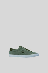 Zapatilla Underspin Pique – Fred Perry – Dark Green 1