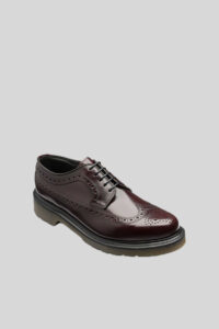 Zapato Brogue 624 Ikon Oxblood 1